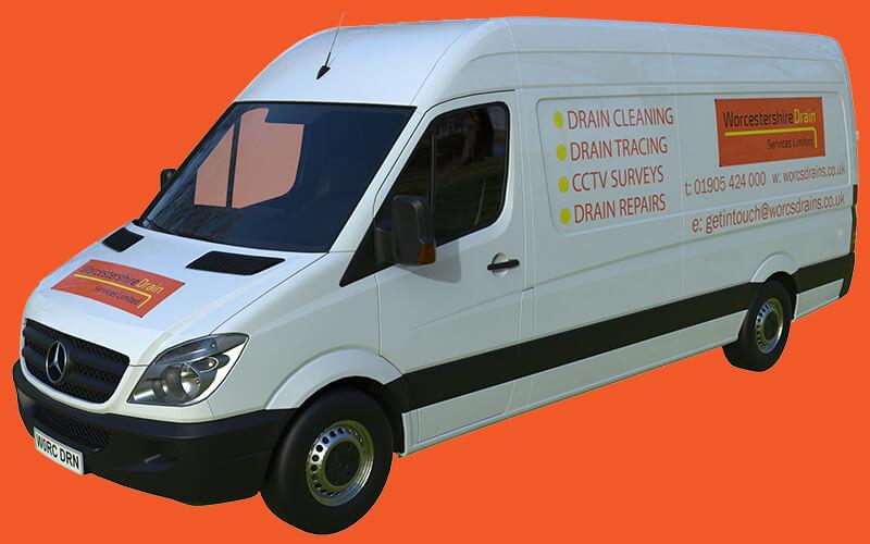 Worcestershire Drain Services Van